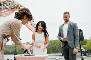 Young fashionable lovely couple with