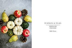 Pumpkins & Pears   Vertical No 3
