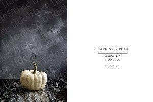 Pumpkins & Pears | Vertical No 1