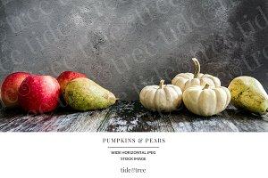 Pumpkins & Pears | Wide No 1