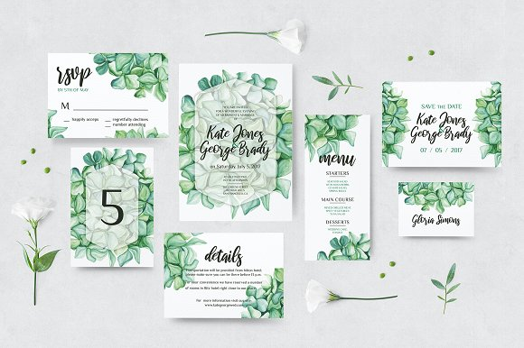 Hydrangea wedding invitations s kit invitation template cafe322. Com.