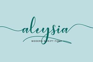 Aleysia Script