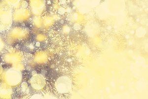 New Year or Christmas background wit