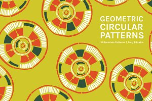 Geometric Circular Patterns
