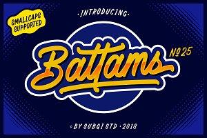 Battams No 25 Pro - 30% OFF