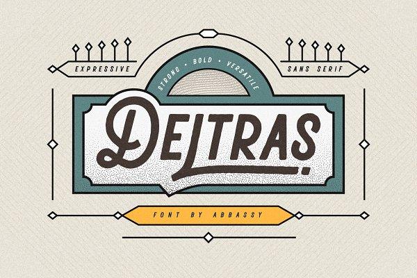 Fonts - Deltras