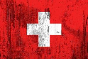 Old Switzerland flag