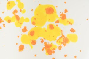 abstract background with yellow and