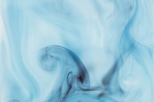 abstract blue background with paint