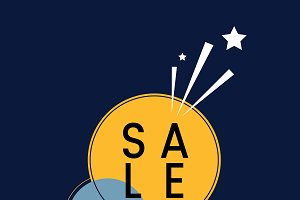 SALE badge shopping & retail vector