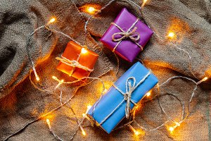 Gift packages and light bulbs
