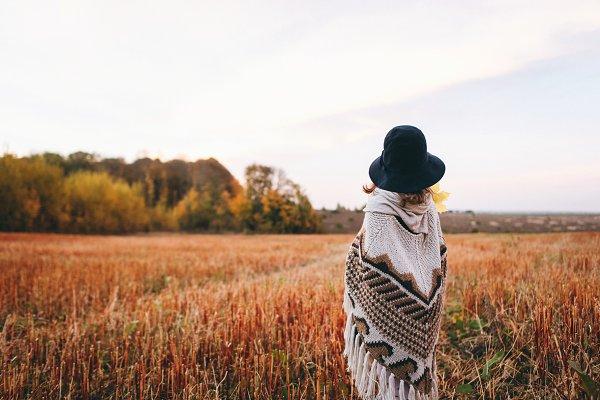 People Stock Photos: Bondart Photography - My warm autumn