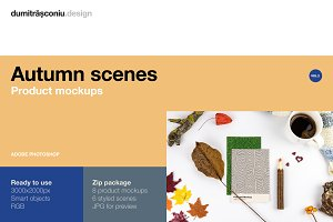 Natural Autumn - Mockups VOL.2