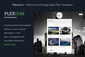 Plexoom - Fullscreen Photography PSD