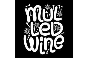 Cute Mulled Wine hand drawn