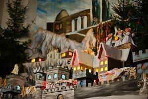 Christmas nativity crib sets