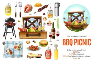 Bbq Picnic Set