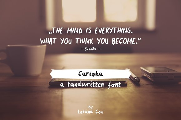 Carioka - Handwritten Font