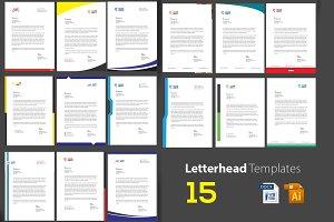 15 Corporate Letterheads
