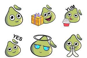 Illustration Of Cute Dimsum