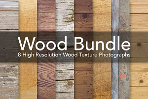 Wood Bundle - Wooden Textures