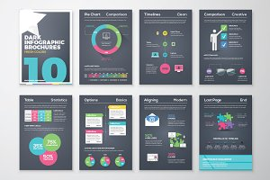 Infographic Brochure 10 Dark Version