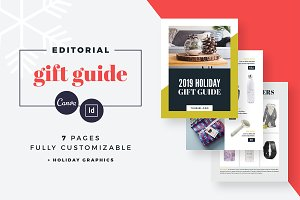 Gift Guide Editorial Catalog