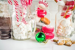 Various christmas sweets
