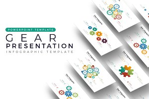 Gear Presentation - Infographic