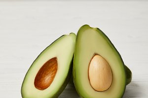 fresh green avocado, clean eating co