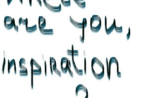 Words where you are inspiration