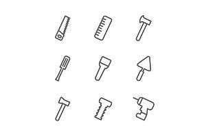 Tool outline icon