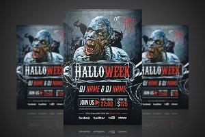 Halloweek - Flyer / Poster