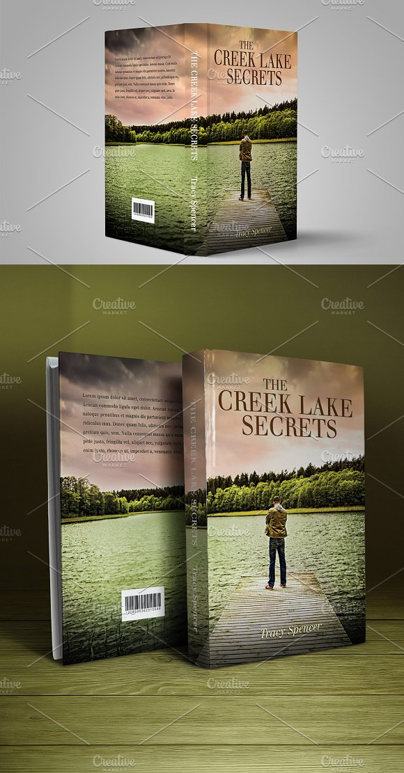 Book Cover Print Template 23 in Templates - product preview 3