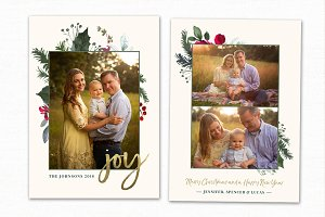 Christmas Card Template CC187