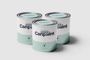 Can of Paint Mock-up 1