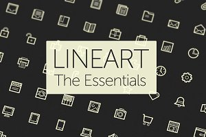 Lineart Icons — The Essentials