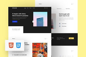 Community HTML Template