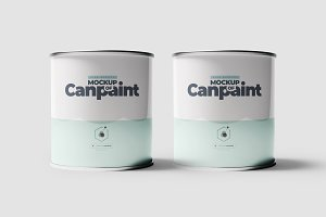 Can of Paint Mock-up 2