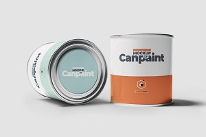 Can of Paint Mock-up 3