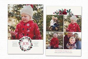Christmas Card Template CC180