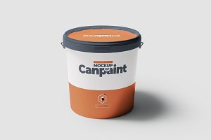 Can of Paint Mock-up 5