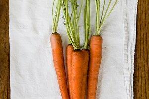 Organic Carrots Layflat