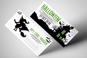 Halloween Horror Party Vouchers