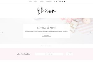 Blossom | Blogger Template