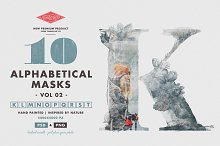 10 Alphabetical Masks Vol 02 by  in Layer Styles