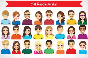 24 People Avatar