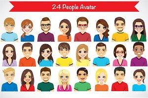 24 People Avatar