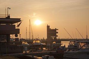 Albarella's port