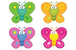 Butterfly Character Collection Set